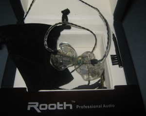Rooth LS8 Custom In-Ear Monitor (CIEM)