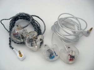 Minerva Mi-Performer & Mi-Performer Pro custom in-ear monitors