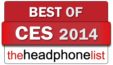 The Headphone List Best of CES 2014 award badge