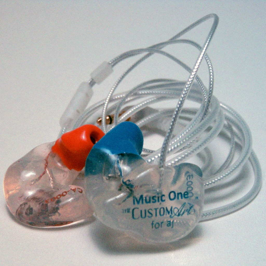 Custom Art Music One silicone custom in-ear monitor