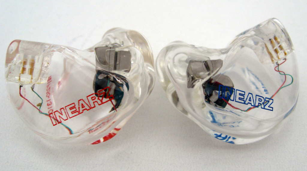 InEarz IE-P250 custom in-ear monitors