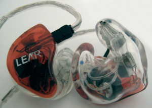 Lear LCM BD4.2 custom in-ear monitors