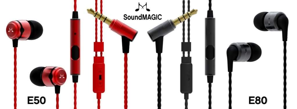 SoundMAGIC E50 and E80
